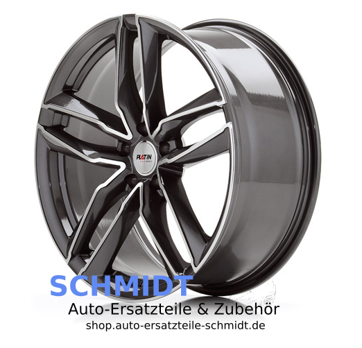 platin wheels p 76 grey polished schmidt auto ersatzteile. Black Bedroom Furniture Sets. Home Design Ideas