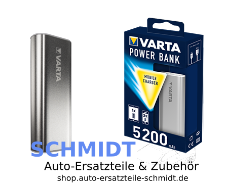 VARTA Power Bank silber 5200 mAh