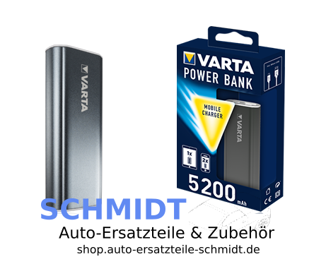 VARTA Power Bank grau 5200 mAh