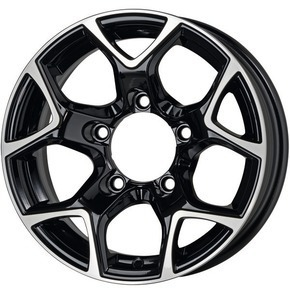 Alufelge PLATIN-Wheels P96 / GMP SJ 15 black diamond