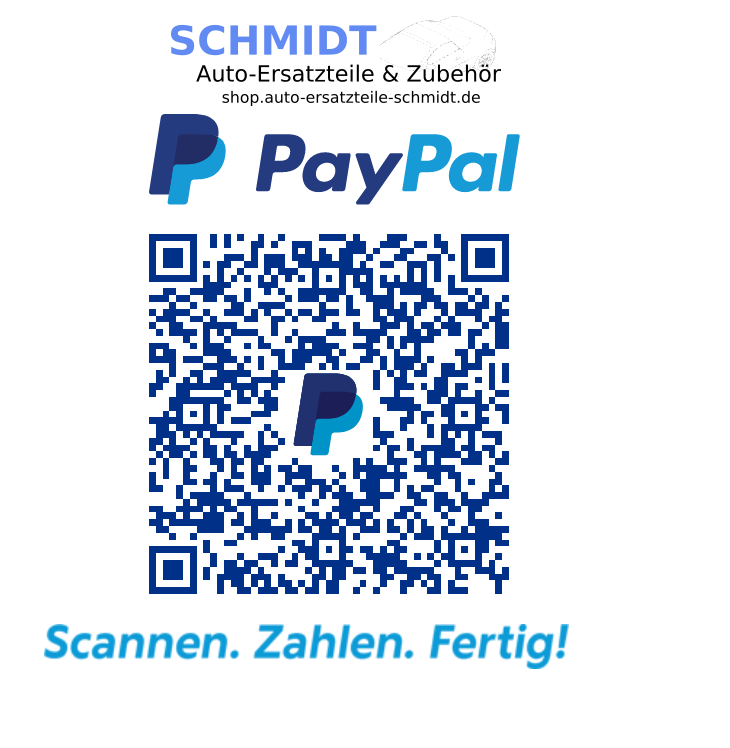 QRCode PayPal-Zahlung